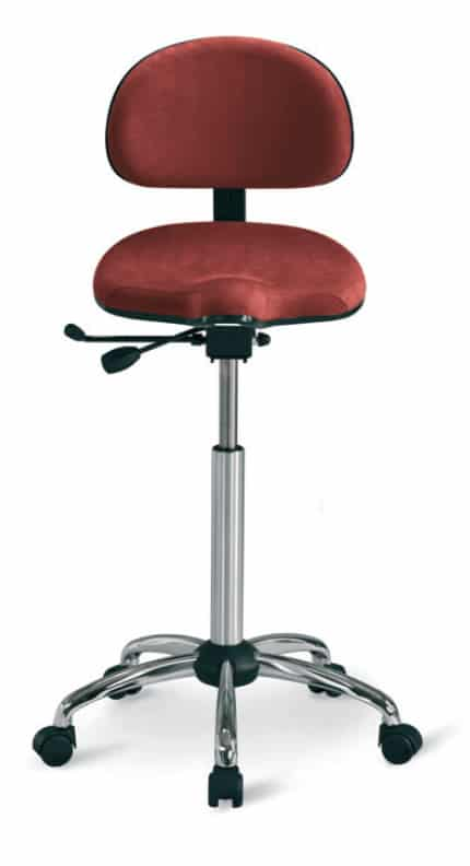 RH Support Stool 4501 with Backrest