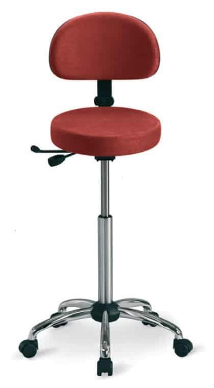 RH Support Stool 4511 with Backrest