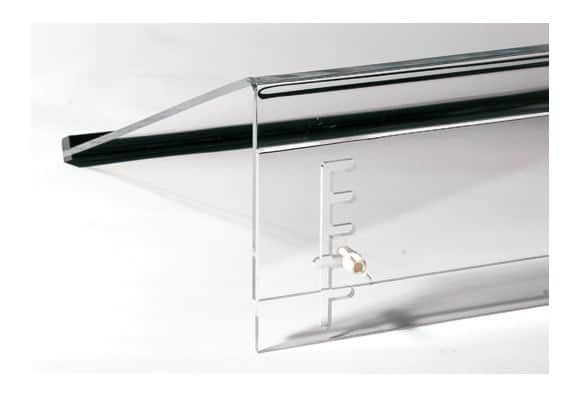 WS2 Height Adjustable Perspex Writing Slope